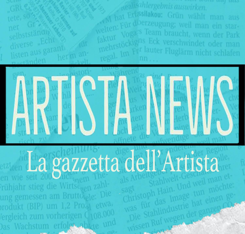 Artista News La Gazzetta Dell'artista